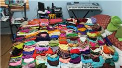 Largest Collection Of Scarves