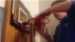 Most Basketball Shots Made On A SKLZ Pro-Mini Hoop In 15 Seconds