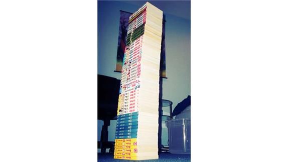 Tallest Manga Tower