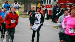 Fastest Time To Run A 5k Race While Dressed Like A Penguin And Juggling