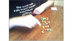 "Fastest Time To Spell ""Ball"" Using M&M's"