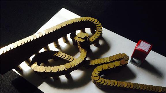 A Signature Made of Coins