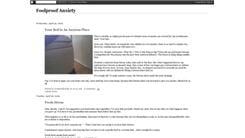 Most Consecutive Blog Posts About Anxiety