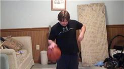 Most Consecutive Forward Passes With A Yo-Yo While Dribbling A Basketball And Kneeling