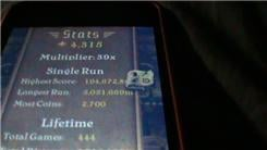 "Farthest Distance Run In A Single Game Of ""Temple Run"""