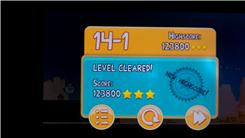 "Highest Score On Level 14-1 Of ""Angry Birds"""