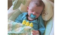 Most Peeps Placed On Sleeping Baby In A Stop-Motion Film