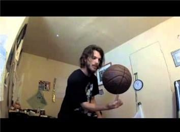 Longest Time Balancing a Basketball on Fingertip