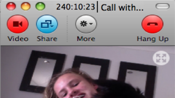 Longest Skype Video Chat