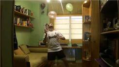 Most Consecutive Bounces Of Two Balloons On Head