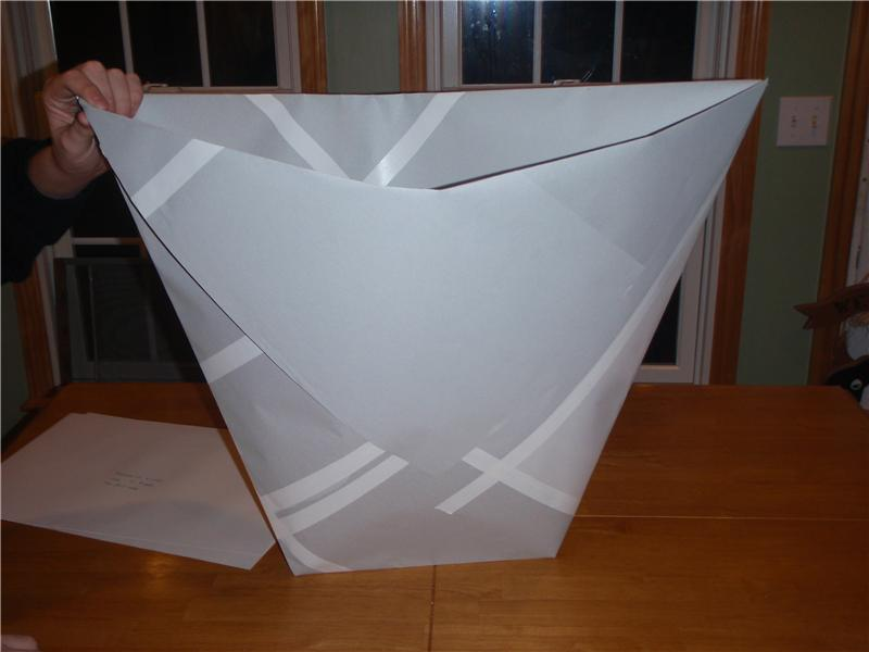 Tallest Origami Paper Cup