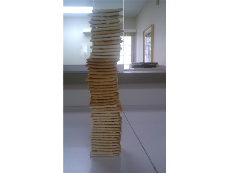 Tallest Saltine Cracker Tower
