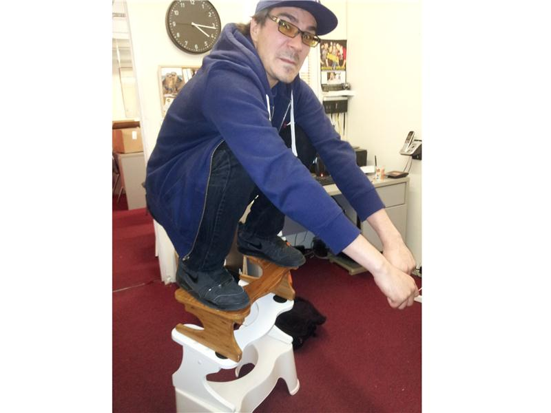 Tallest Squatty Potty Stool Tower Squatted On