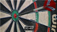 Most Bullseyes Hit By Two Dart Players In Two Minutes