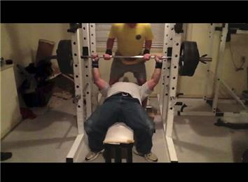 Heaviest Raw Bench Press (Athlete Under 235 Lbs.) | World ...