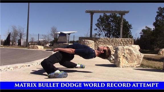 Longest Matrix Bullet Dodge/Lean