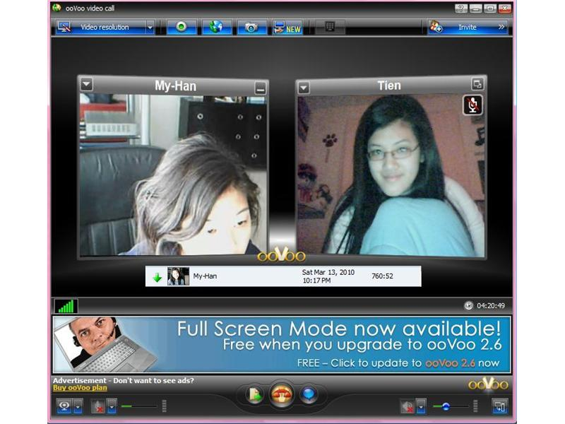 Longest OoVoo Video Chat