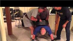 Most Perfect Push-Ups With 225-Pound Weight On Back
