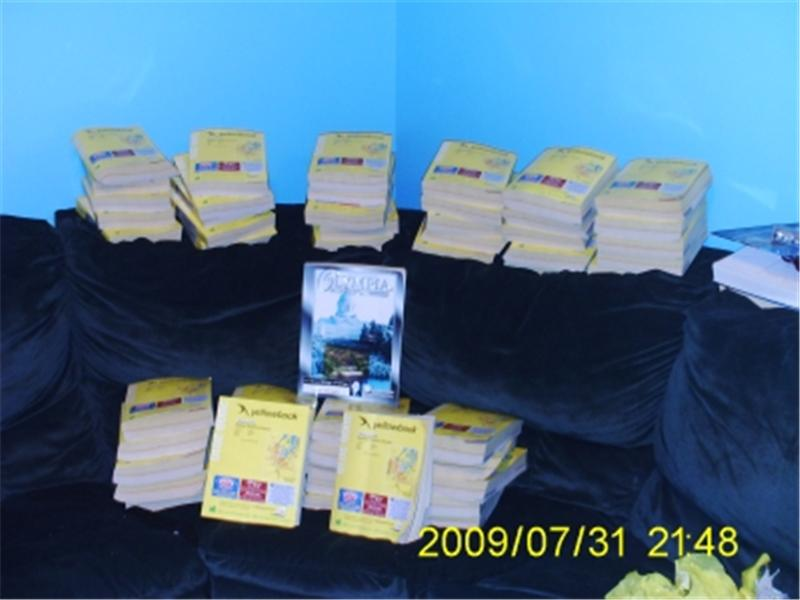 Most Phone Books Placed On A Couch