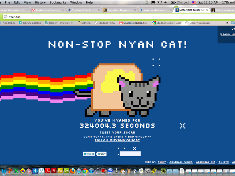 Longest Non-Stop Nyan Cat