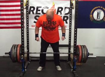 Heaviest Deadlift From 17 Inches