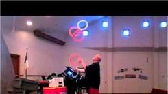 Most Consecutive Color Changes While Juggling Five Rings