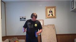 Most Consecutive Bounces Of A Tennis Ball On A Spray Paint Can