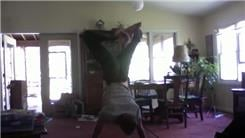 Longest Handstand With Feet Crossed
