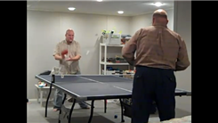 Most Table Tennis Balls Volleyed By Two Players At One Time