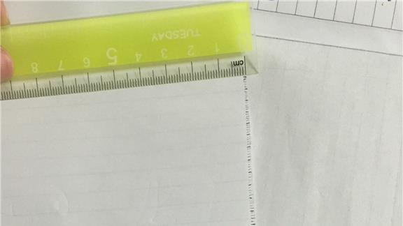 Most Smallest Scale Made of Paper Up To 37 Cm
