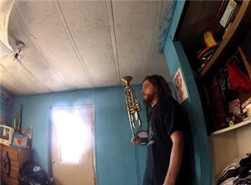 Longest Time Balancing A Trumpet On Finger