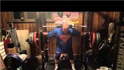 Heaviest Raw Squat Using A Cambered Squat Bar