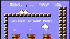 Fastest Time To Complete Super Mario Bros.