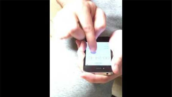 Most Clicks of Lap Button on Phone in 1 Minute