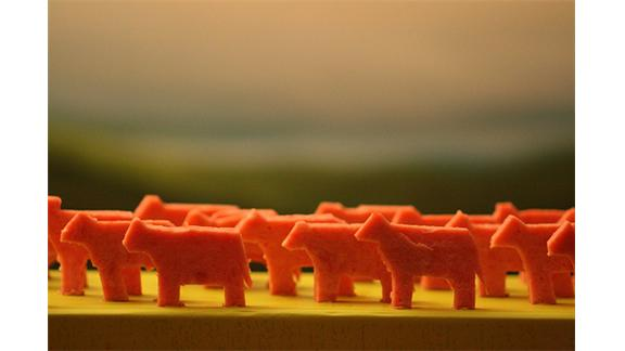 Largest Collection Of Miniature Cows Made From Spam