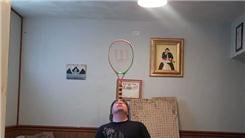 Longest Time To Balance A Tennis Racket On Forehead
