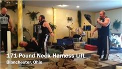 Heaviest Person Lifted Using A Neck Harness