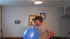 Most Facial Hits With A Punch Balloon In 15 Seconds