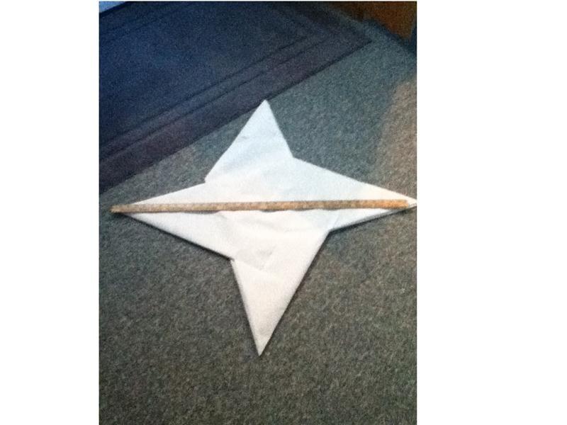 Largest Origami Ninja Star