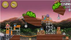 "Highest Score On Level 10-11 Of ""Angry Birds Rio"""