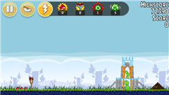 "Highest Score On Level 1-5 Of ""Angry Birds - Poached Eggs"""