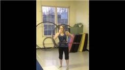 Fastest Time To Eat A Banana While Hula Hooping