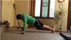 Longest Plank Exercise On Hockey Pucks