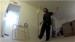 Longest Time To Balance A Broom On Foot