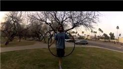 Longest Time Hula Hooping On A Slackline