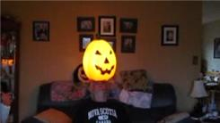 Longest Time To Balance A Jack-O-Lantern On Forehead