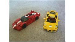 Largest Collection Of Lego Ferraris