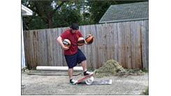 Most Consecutive Bounce Juggles Using Three Basketballs While Balancing On A Rola Bola