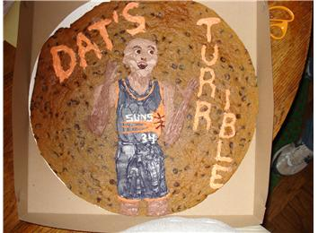 Most Images Of Charles Barkley On A Cookie