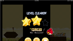 "Highest Score On Level 11-3 Of ""Angry Birds"""